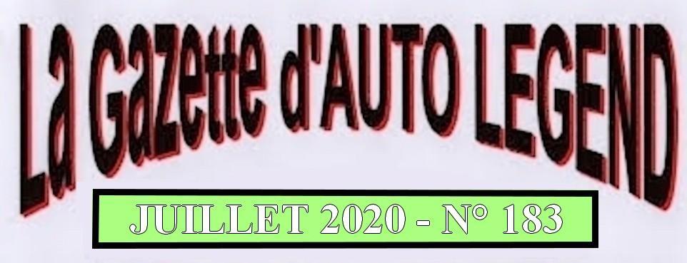 Bandeau gazette juillet 2020